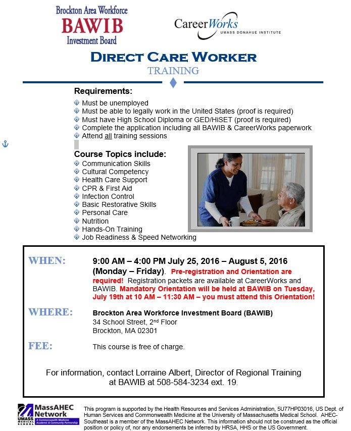 Direct Care Worker Training